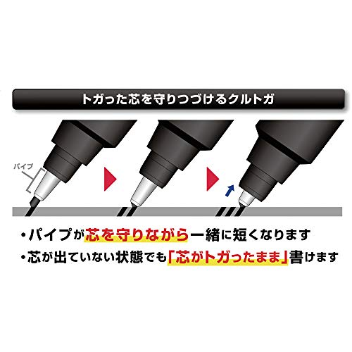 三菱鉛筆シャープペンクルトガ0.5ブルー1.4cm×14cmM54501P.33