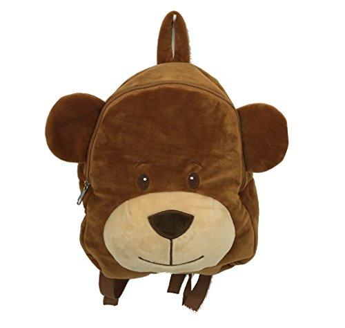 Lalia Kinderrucksack Teddy-Bär Plüsch-Rucksack Mini-Rucksack für Kleinkinder im Kindergarten, perfekt für Kinder unterwegs