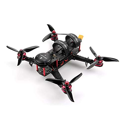 XuBa Holybro Pixhawk 4 Mini QAV250 Basissatz RC Quadrocopter RC Drohne mit Pixhawk 4 GPS DR2205 KV2300 Motor 433 MHz