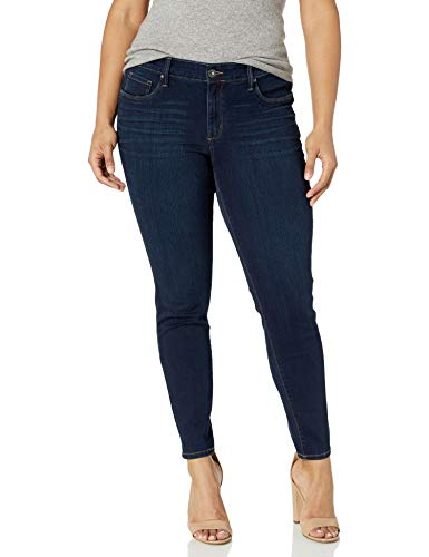 Jessica Simpson Women's Plus-Size Kiss Me Skinny Pant, Ditto/Ditto, 20