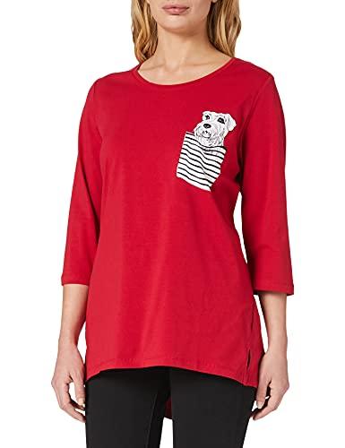 camicia donna 56 ULLA POPKEN Shirt mit Brusttasche