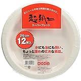日本デキシー スーパープレートト徳用 26cm 12枚