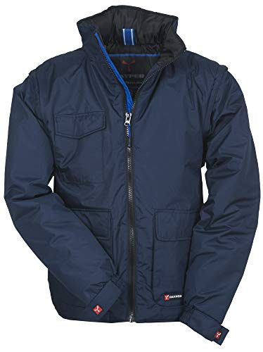 giacca 7xl profilomoda Oversize Taglie Forti Uomo Giaccone Giacca a Vento Giubbotto (Taglia 7XL