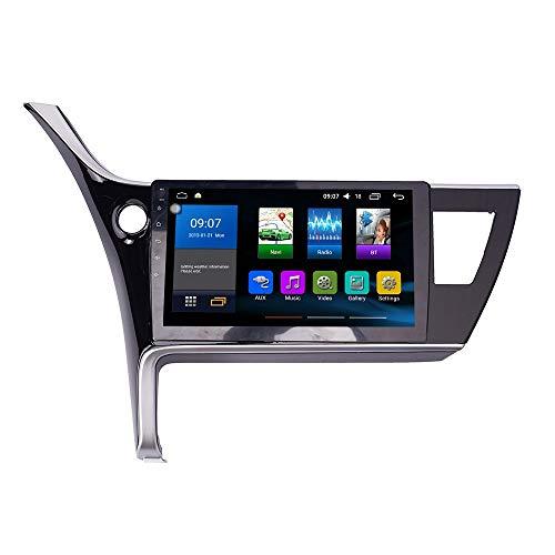 JIBO por Corolla Levin 2017-2019 Android 10 Auto Radio GPS Navegación Cabeza Unidad IPS Toque Pantalla Nav Sat Apoyo SWC Teléfono Controlar Multimedia Jugador Vídeo Receptor