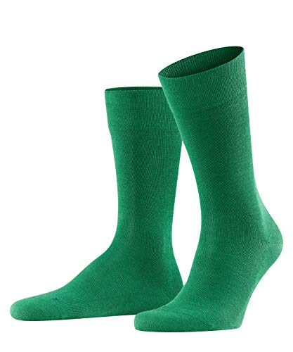 FALKE Herren Sensitive London M Socken, Grün(Golf 7408), 43-46 EU