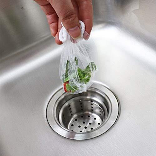 HYDT Sac filtrant Sink Filtre Cheveux lavabo Poubelle Accessoires