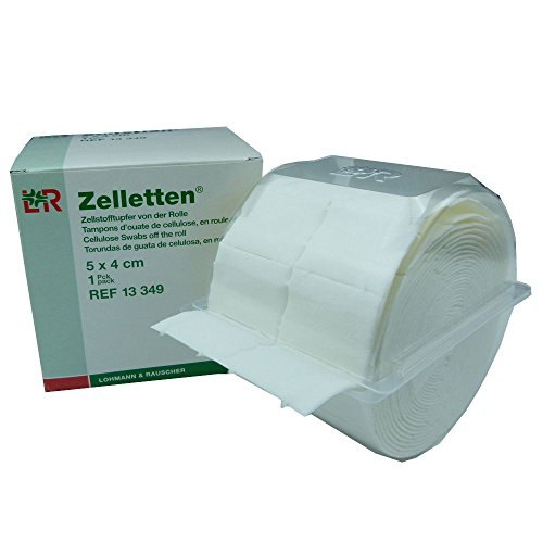 Zelletten- Spender + 300 Zellstofftupfer Lohmann&Rauscher