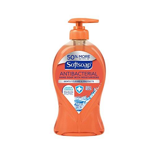 Softsoap Liquid Hand Soap Pump, Antibacterial Crisp Clean, 11.25 Ounce
