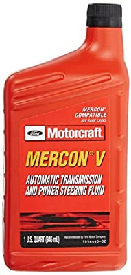 Genuine Ford Fluid MERCON-V Automatic Transmission and Power Steering Fluid