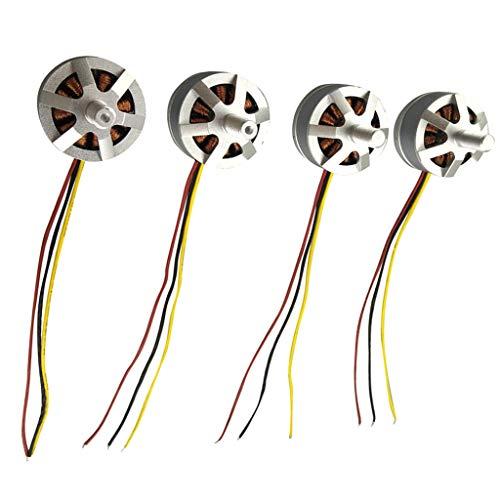 lahomia 4 Pezzi di Ricambio per Motore Drone per HMJX B3H Bugs 3H Bugs 3