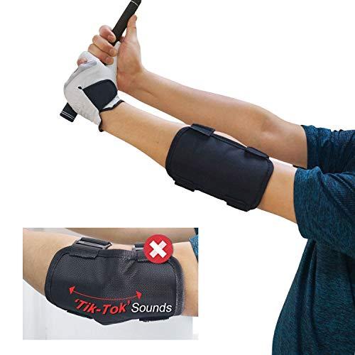 Ranoki ゴルフ スイング矯正 手打ち防止 ベルト スイング 練習 肘 サポーター