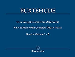 Organ Works Complete in 5 Volumes (special price)