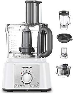Kenwood Multipro Express Food Processor, 3.0 Litre Bowl, 1.2 Litre Blender, Dough Hook, Whisk, 3 Slicing and Grating Disc...