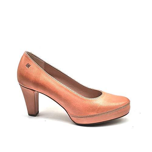DORKING - Zapato de salón de tacón y Plataforma, de Piel y...