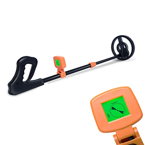 AMYSPORTS Kids Metal Detector Lightweight Adjustable Stem Best Metal Detectors for Kids Treasure Hunter for Children Beach Detecting