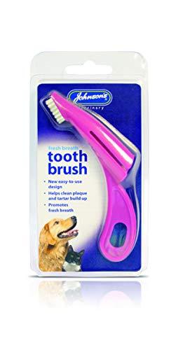 Johnsons vet Ny tandborste för hundar och katter