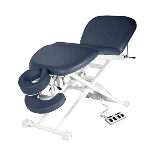 Master Massage Theramaster 4 Section Electric Bodywork Table, Royal Blue, 29 Inch