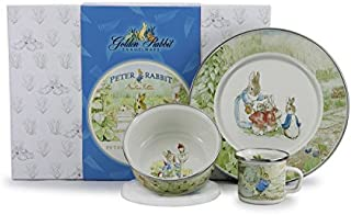 Peter Rabbit Beatrix Potter Baby Baby Dish Set Easter Gifts for Toddlers Easter Gifts for Babies & Easter Gifts for Kids 3 Pc Set