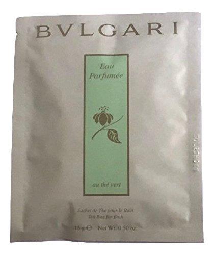 Bvlgari au the vert (green tea) bath tea bags Set of 6