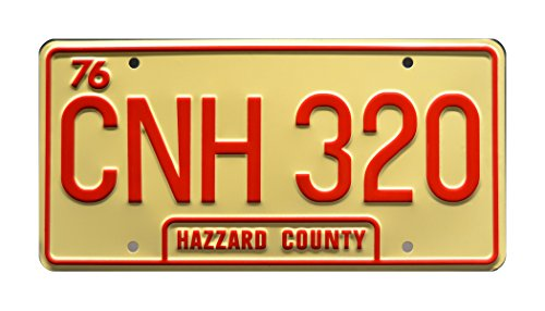 Dukes of Hazzard | CNH 320 | Metal Stamped License Plate