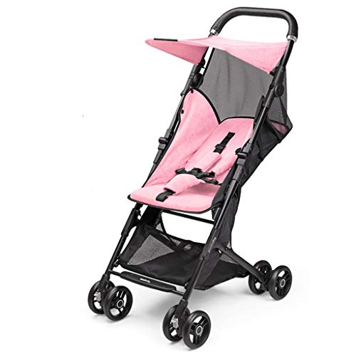 Why Choose YAYA Stroller Light Portable Baby Stroller Baby Winter and Summer Hand Can Take A Folding...