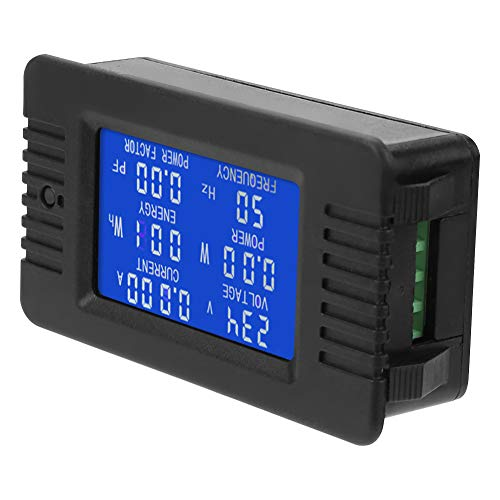 PEACEFAIR Stromspannungsmessgerät PZEM-018 AC Multifunktionsmessgerät Energie Energie Spannung Strom Multimeter Amperemeter Voltmete Tester