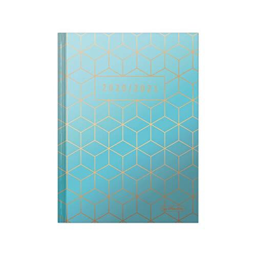 herlitz 50029150 Schülerkalender 2020/2021 Legend, A5, Motiv: Cubes, 1 Stück