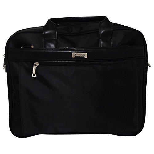 Beverly Hills polo Club Schoudertas Handtas voor Laptop Aktetas Zwart