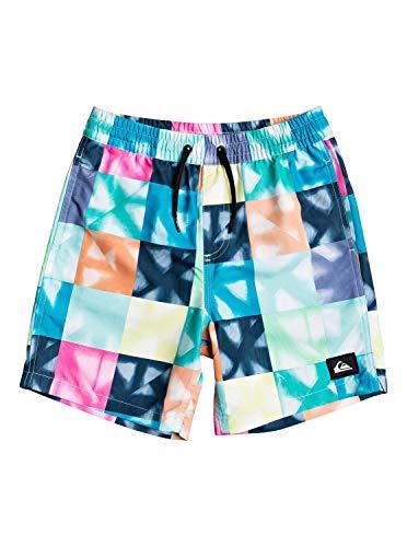 Quiksilver Jungen Jam/Volley Dye Check Volley Boy 8-16 Jahre 15, Beach Glass, XL/16, EQBJV03298