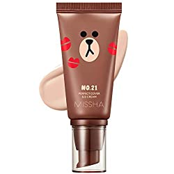 top rated Missha M Perfect Cover BB Cream # 21 SPF 42 PA +++ (50 ml) (LINE FRIENDS Edition) – Lightweight,… 2021