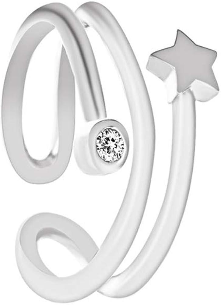 Gsdviyh36 1Pc Women Rhinestone Inlaid Star Cuff Ear Earr On Clip Max Surprise price 88% OFF