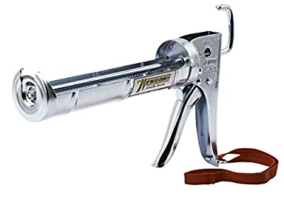 Newborn 307 Super Ratchet Rod Cradle Caulking Gun, 1/10 Gallon Cartridge, 6:1 Thrust Ratio from Newborn Brothers Co., Inc.