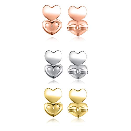 earring backs to stop earrings drooping,earring backs safety backs,earring lifters backs sterling,earring lifters for stretched earlobes