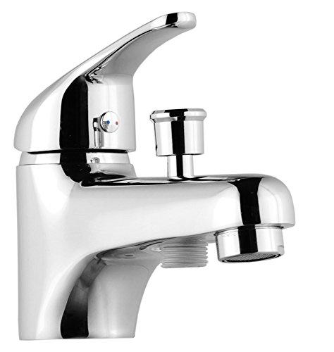 ROUSSEAU 4056452 Mitigeur bain/douche Monotrou Chromé, Chrom&ampeacute