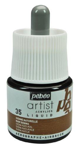 Pébéo 317035 - Material para Pintar con aerógrafo, Color marrón