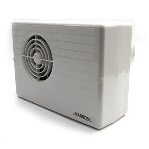 Badlüfter Manrose CF200T Zentrifugal Abluft Ventilator mit Timer Dusche + WC