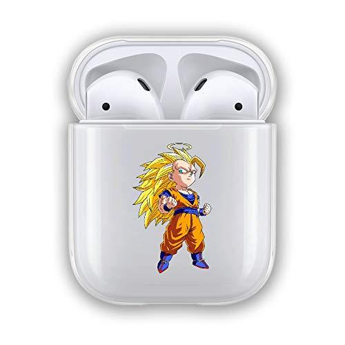 VIENNAR Goku Vegeta Cell Gohan Trunks xhkam TPU Transparent Case For Funda Airpods 1/2