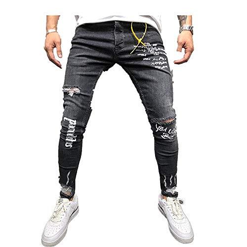 Running Mrtom Skinny Vaqueros Mujer Rotos Jeans Elasticos Cintura Alta Pantalones Anchos De La Pierna Denim Largos Rectos Slim Fit Deportes Y Aire Libre Brandknewmag Com