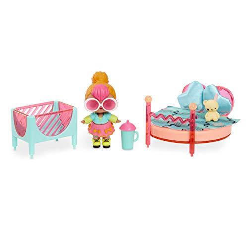 L.O.L Surprise!561743E7C - Mobili per camera da letto con neon Q.T. e 10+ sorprese, multicolore
