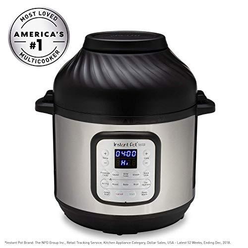 Instant Pot Air Fryer 8QT + Electronic Pressure Cooker