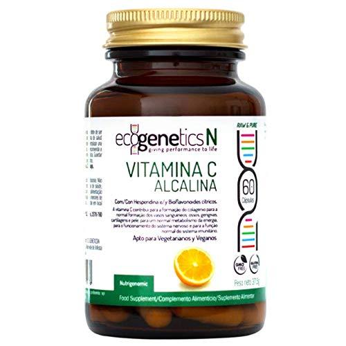 Ecogenetics Vitamina C Alcalina – Ascorbato Cálcico – 60 cáps