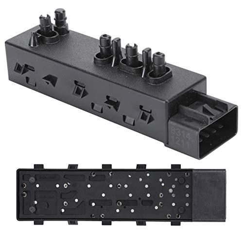 Interruptor de asiento de 8 vías, interruptor interior interruptor automotriz, para Srx asiento ajustador interruptor