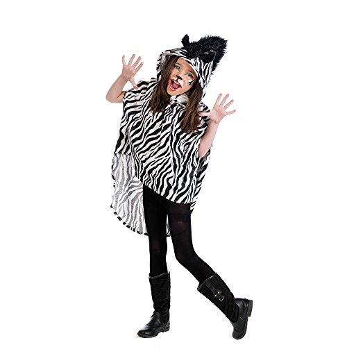 Limit mi931T2Zebra-Poncho Kinder-Kostüm