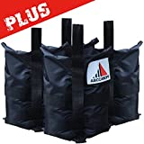 ABCCANOPY Heavy Duty Premium Instant Shelters Gazebo Weight Bags for Pop up Canopy, Outdoor Patio, Backyard - Set of 4-50lb Capacity per Bag