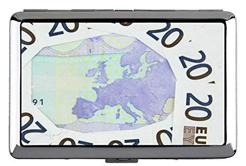 Hard Box Full Pack Zigarettenetui, Geld Hintergrund Banknote Hard Box und Halter (King Size)