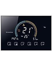 T-storm Smart WiFi thermostaat voor verwarming - schoon contact - met LCD-kleurendisplay geschikt voor 503 box - compatibel met Alexa en Google Home en IFTTT