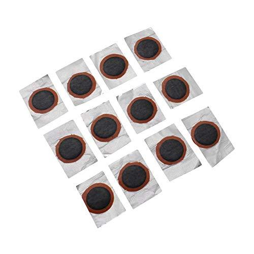 Zefal Rustine – Lote de 100 Piezas de reparación para pinchazos, cámara de Aire, colchonetas, boya de 15 mm, Ciclismo, Negro Universal