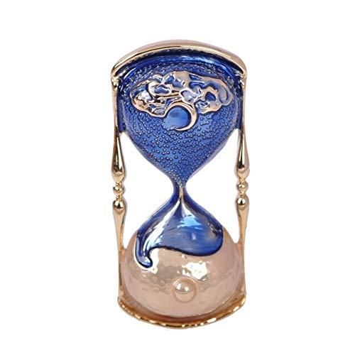 XZROOKEI Vintage Sanduhr Emaille Pins Legierung Broschen für Frauen Männer Revers Ornamente Hochzeit Engagements Zubehör Geschenke blau
