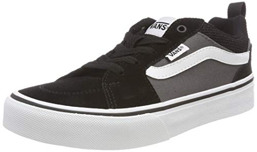 Vans Filmore Suede/canvas Zapatillas Niños, Negro ((Suede/Canvas) Black/Pewter Ug7), 39 EU (6 UK)