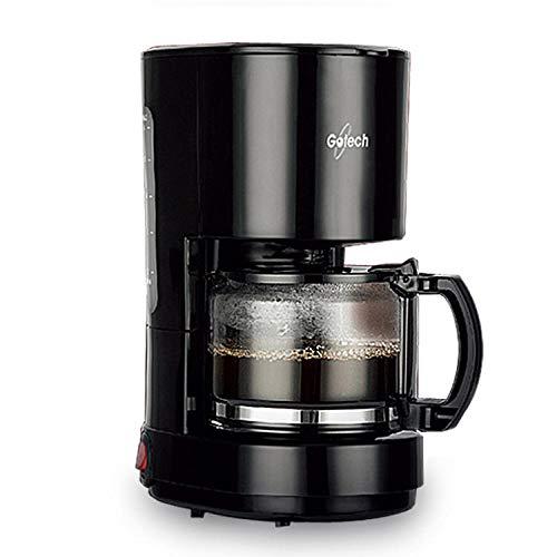 Automatische Koffiemachine Druppelkoffiezetapparaat Isolatie Druppelbestendig 600 W 0.6L Plastic Blackespresso Koffie